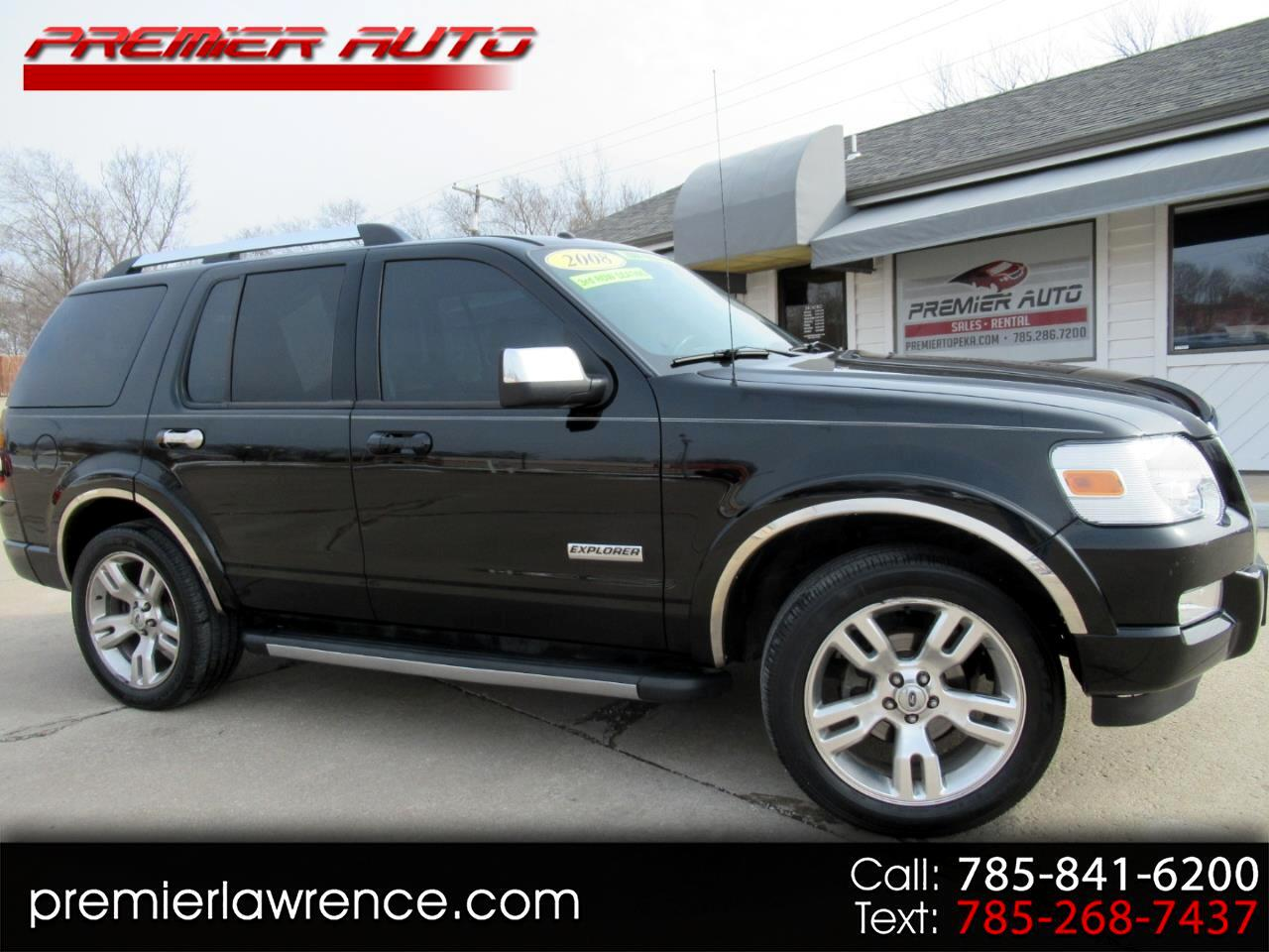 2008 Ford Explorer Limited 4.0L AWD