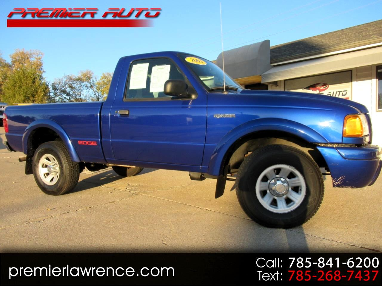 Ford Ranger Edge Short Bed 2WD 2003
