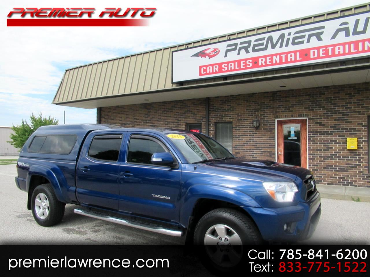 Toyota Tacoma Double Cab Long Bed V6 5AT 4WD 2015
