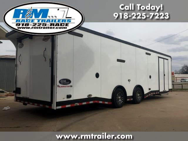 2018 Cargo Mate Eliminator 30FT ENCLOSED RACE TRAILER