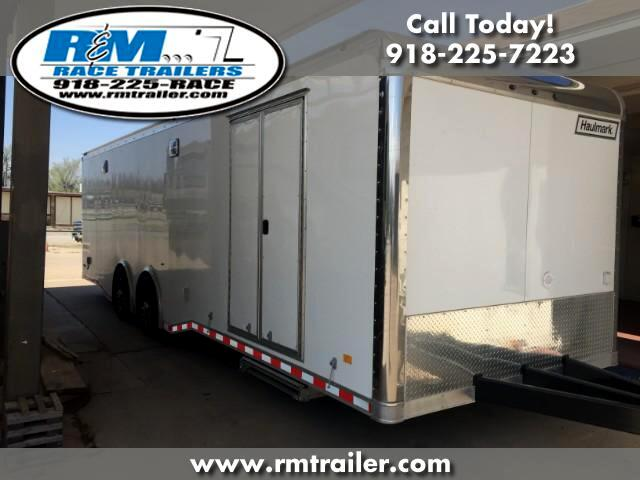 2018 Haulmark Edge 28FT ENCLOSED RACE TRAILER