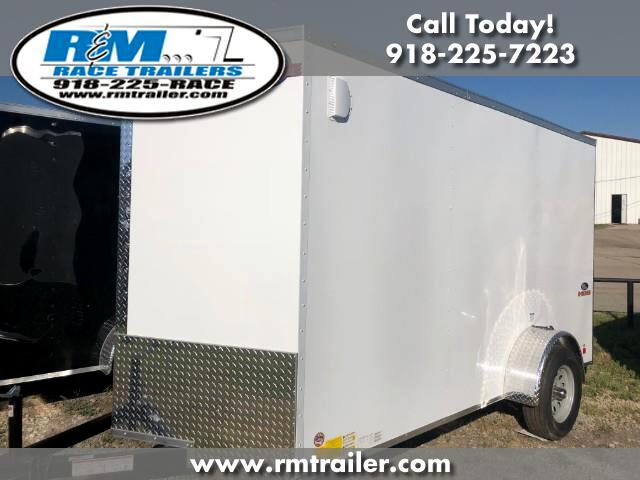 2019 Cargo Mate E Series Wedge ENCLOSED TRAILER 6X12