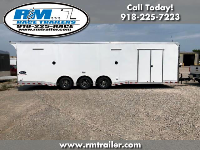 2019 Cargo Mate Eliminator 32FT ENCLOSED RACE CAR TRAILER