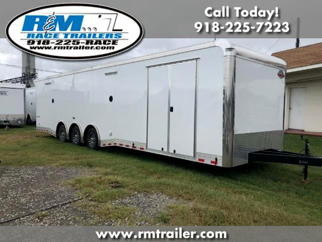 2019 Cargo Mate Eliminator 34FT ENCLOSED RACE CAR TRAILER