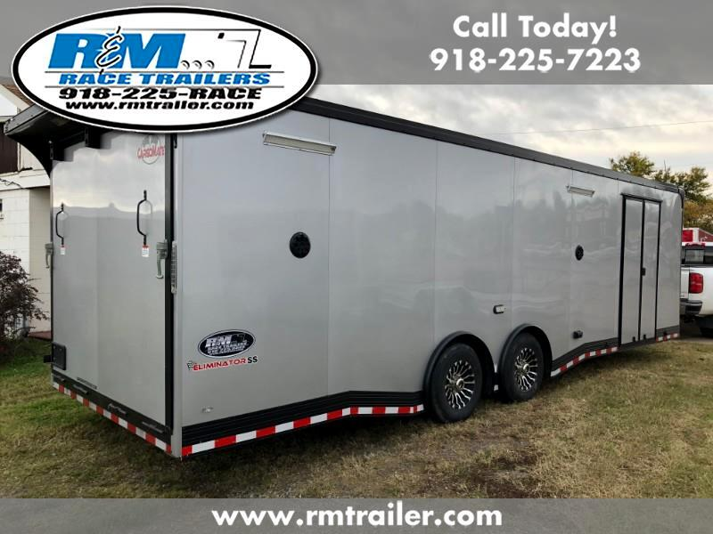 2019 Cargo Mate Eliminator 28FT ENCLOSED TRAILER