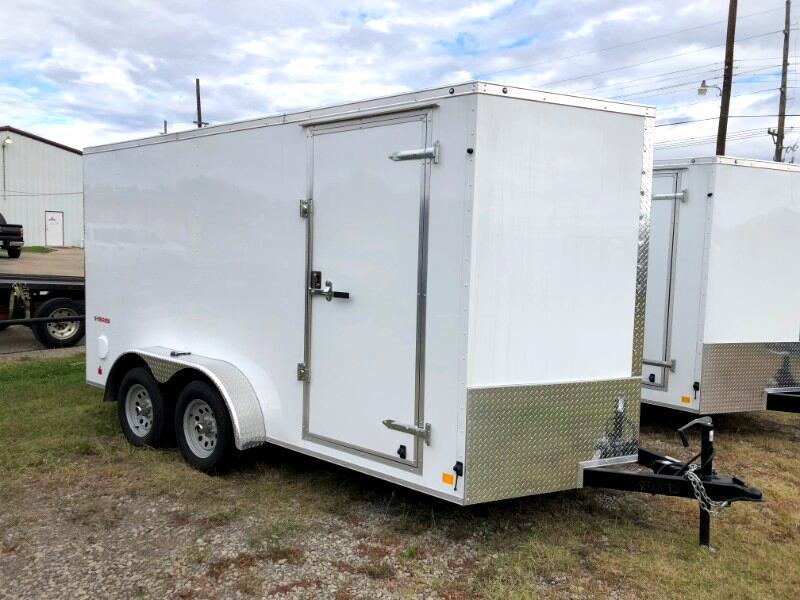 2019 Cargo Mate Econo Hauler Wedge ENCLOSED TRAILER 7X14