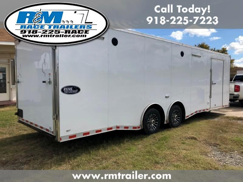 2019 Continental Cargo Value Hauler Wedge 28FT ENCLOSED RACE TRAILER