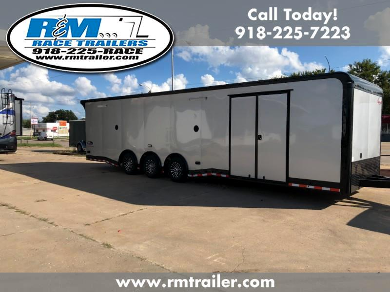 2019 Cargo Mate Eliminator 32FT ENCLOSED RACE TRAILER