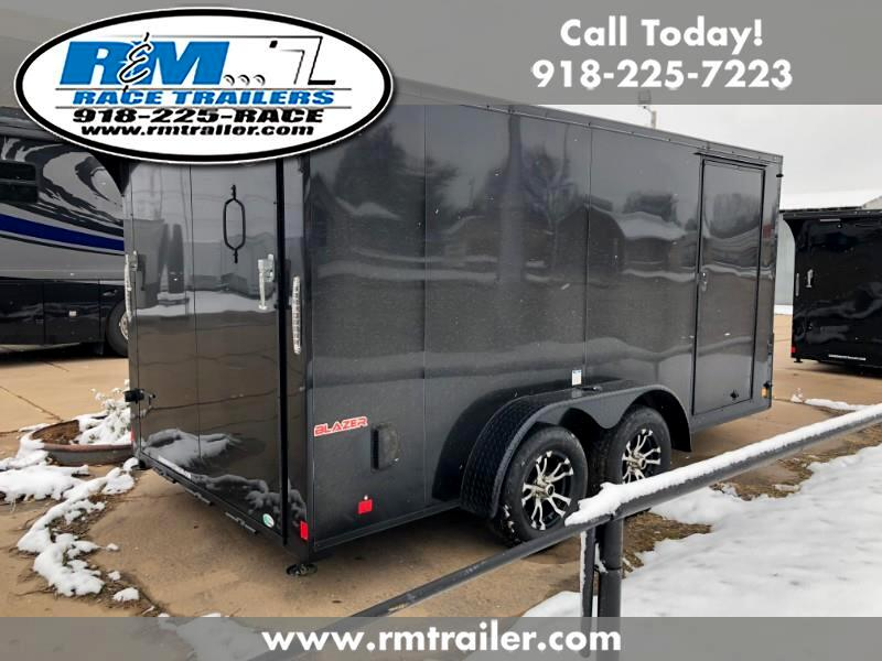 2019 Continental Cargo Tail Wind ENCLOSED TRAILER 7X14