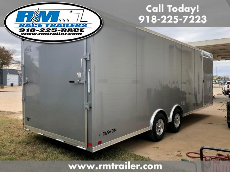 2019 ATC Raven 24ft ENCLOSED TRAILER
