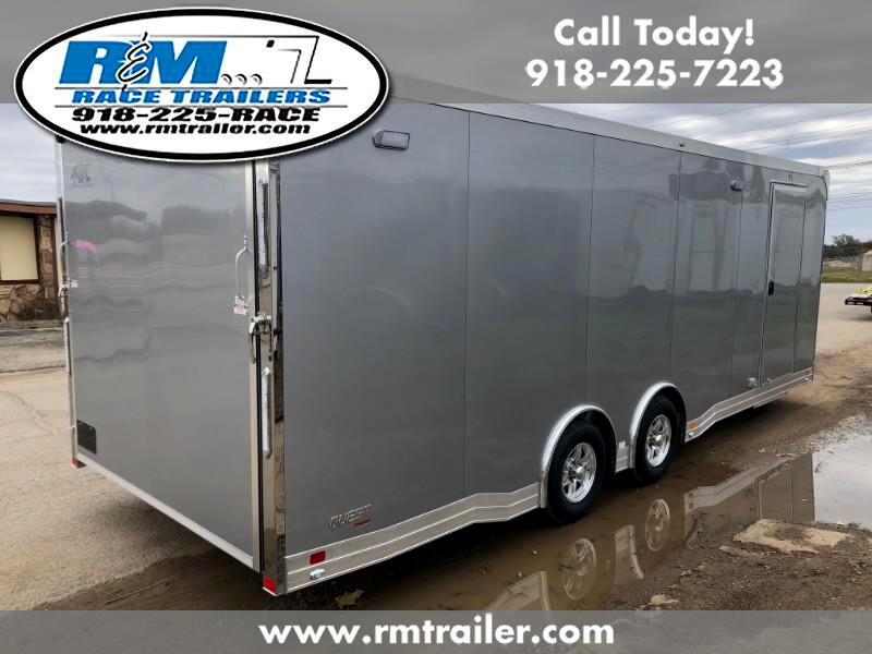 2019 ATC Quest 24FT ENCLOSED CAR TRAILER