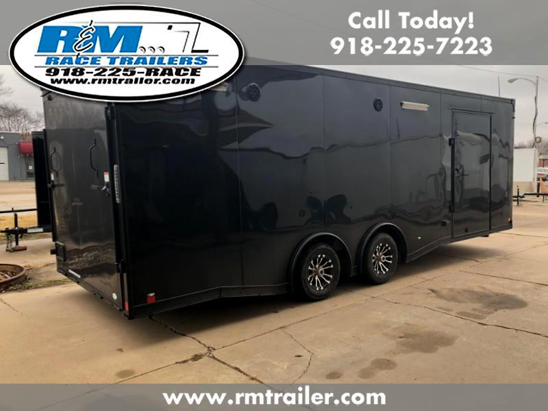 2019 Continental Cargo Value Hauler Wedge 24FT ENCLOSED RACE TRAILER