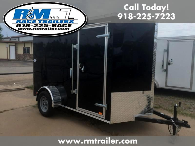 2019 Cargo Mate Econo Hauler Wedge ENCLOSED TRAILER 6X10