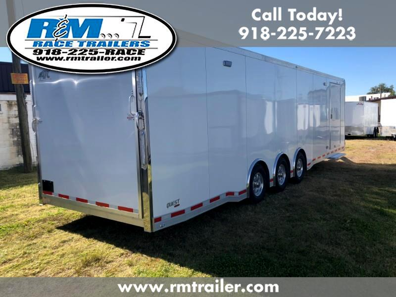 2019 ATC Quest ATC 32FT RACE TRAILER