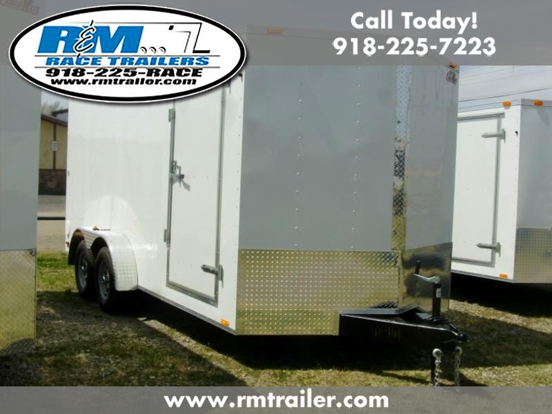 2020 Cargo Mate Econo Hauler Wedge 7X14 ENCLOSED TRAILER