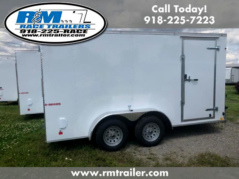 2020 Cargo Mate E Series Wedge 7x14 ENCLOSED TRAILERS