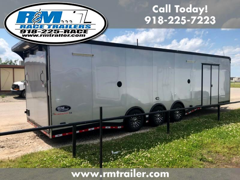 2020 Cargo Mate Eliminator 32FT ENCLOSED RACE TRAILER