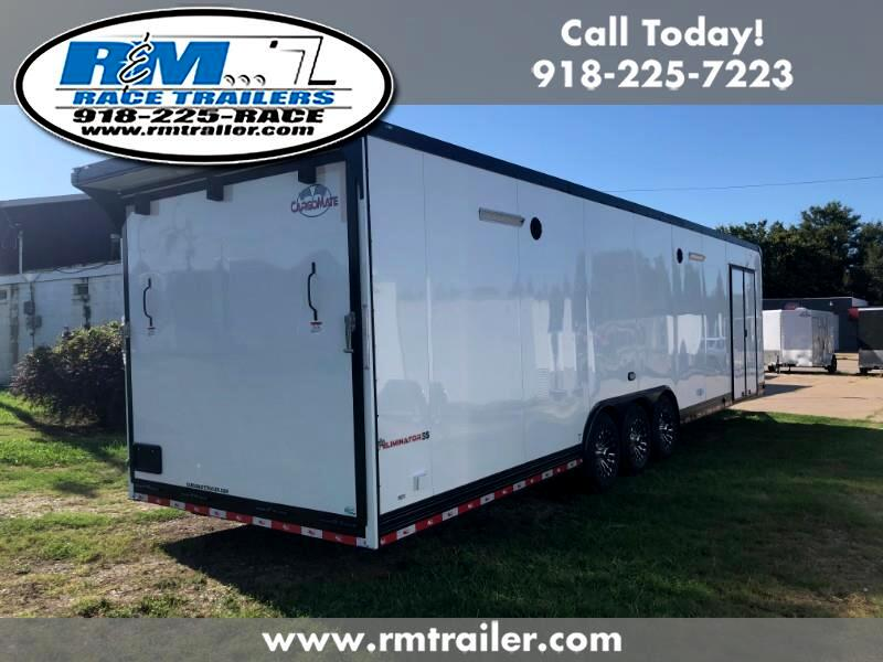 2020 Cargo Mate Eliminator 34ft ENCLOSED RACE TRAILER