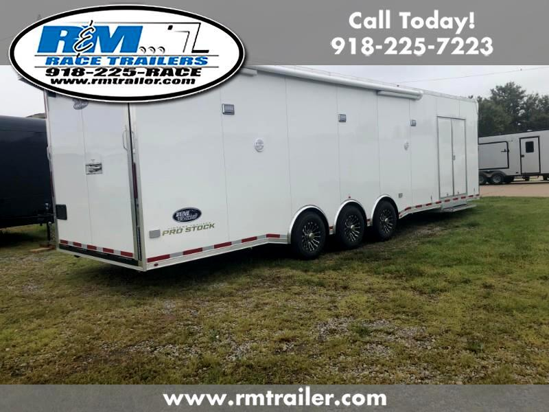 2020 Vintage Race Trailer 32ft ENCLOSED RACE TRAILER
