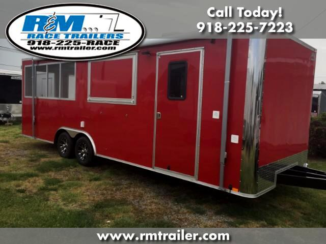 2018 Cargo Mate Econo Hauler Wedge ENCLOSED CONCESSION BBQ TRAILER
