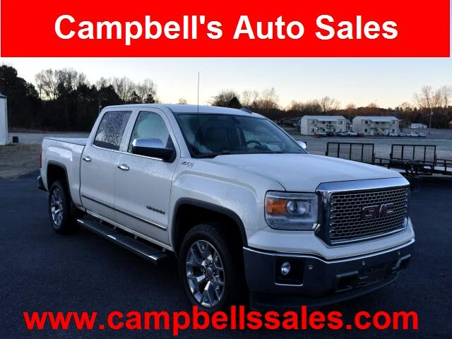 GMC Sierra 1500 SLT Crew Cab Long Box 4WD 2015
