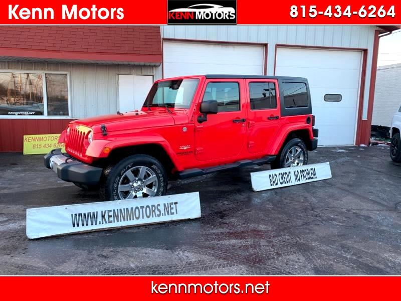 Jeep Wrangler Unlimited 4WD 4dr Sahara 2013