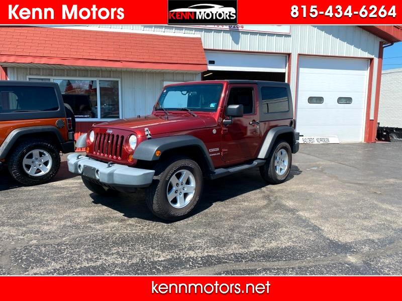 Jeep Wrangler 4WD 2dr Sport 2010