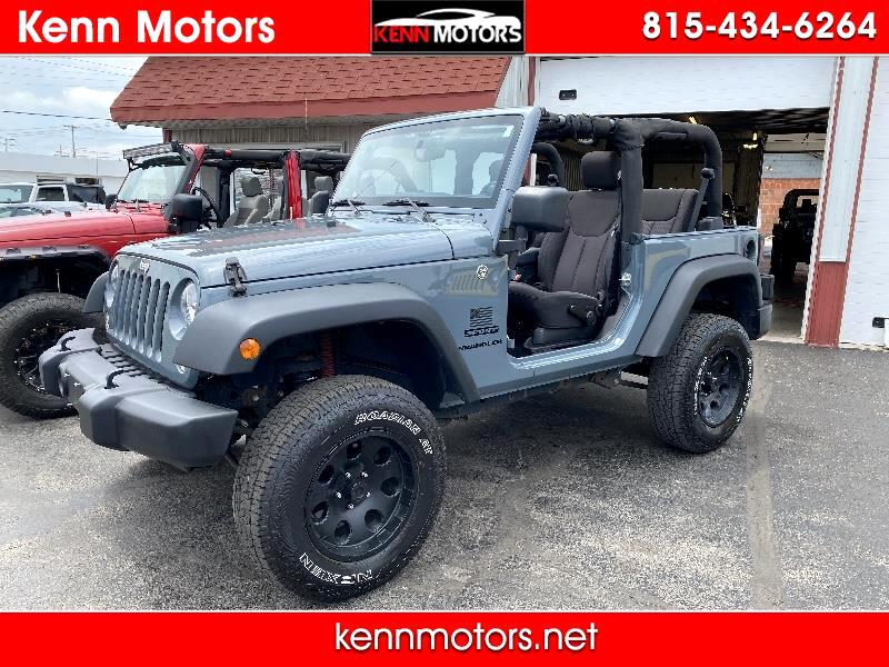 Jeep Wrangler 4WD 2dr Sport 2014