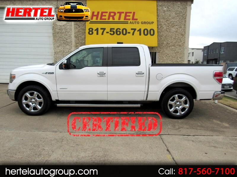 Ford F-150 Lariat SuperCrew 2WD 2013