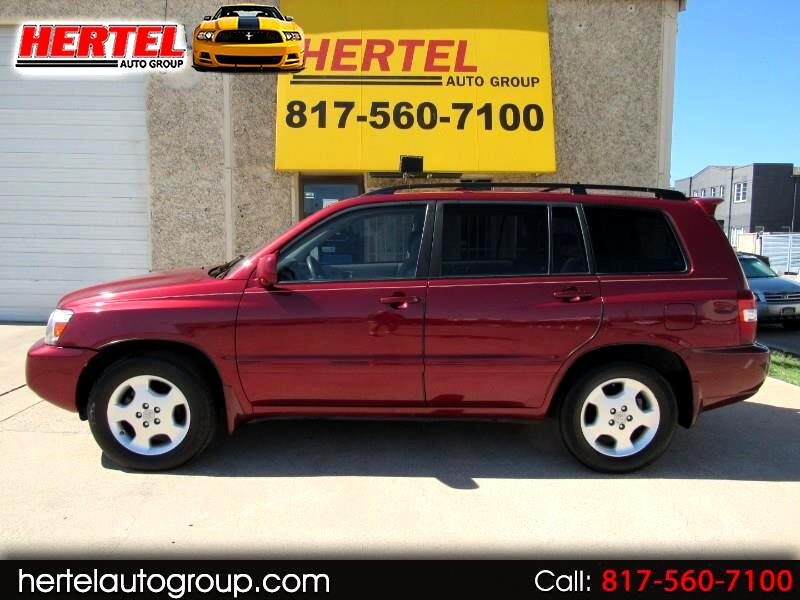 Toyota Highlander Limited V6 2WD 2005