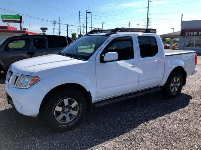 2012 Nissan Frontier 4WD Crew Cab V6 PRO-X4