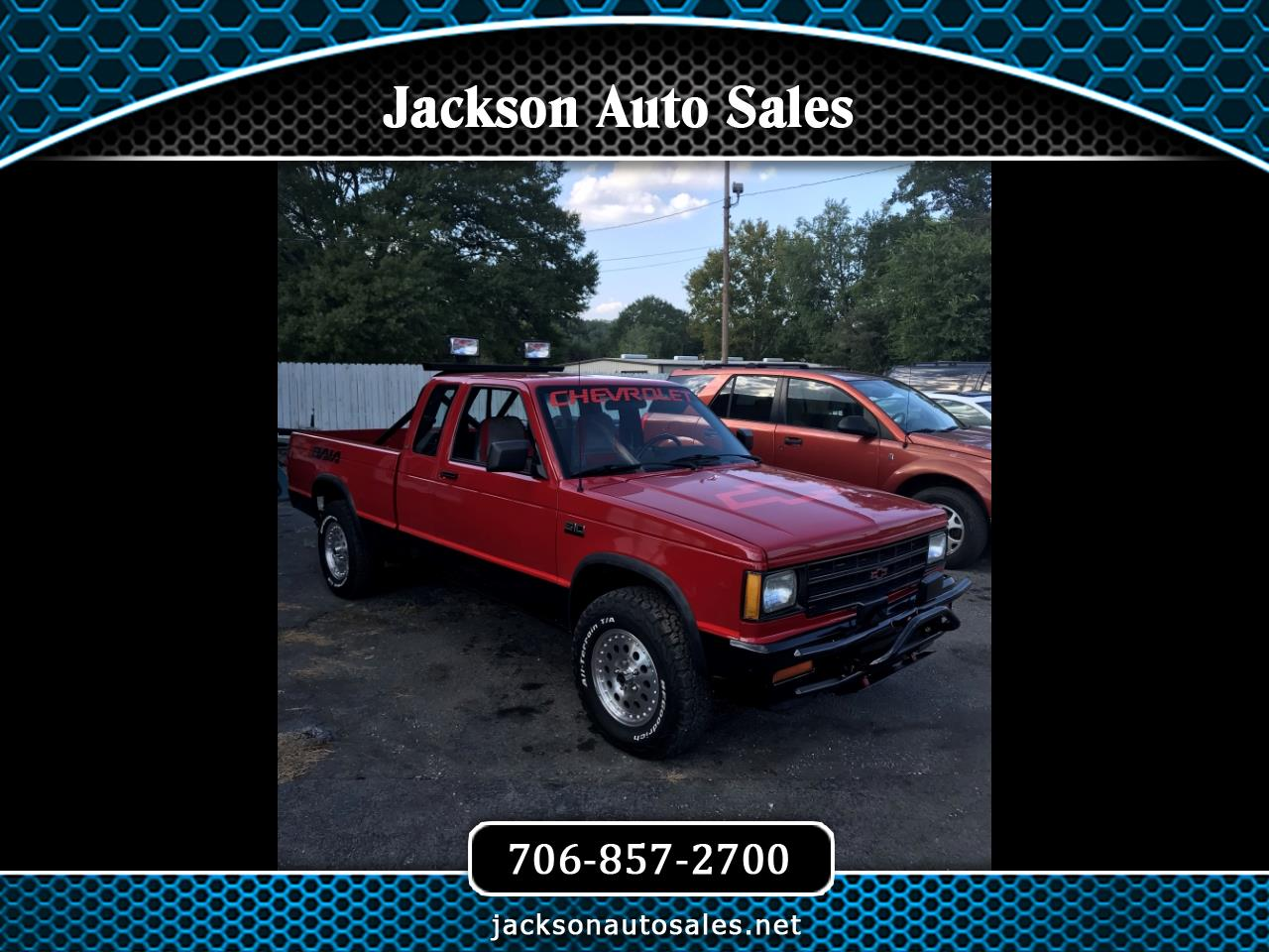 1989 Chevrolet S10 Pickup Ext. Cab Short Bed 4WD