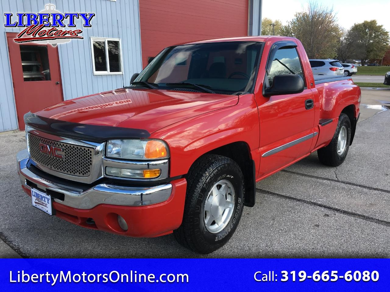 2004 GMC Sierra 1500 SLE Short Bed 4WD