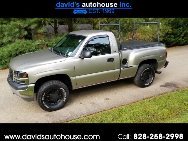 2002 GMC Sierra 1500 SL Short Bed 4WD