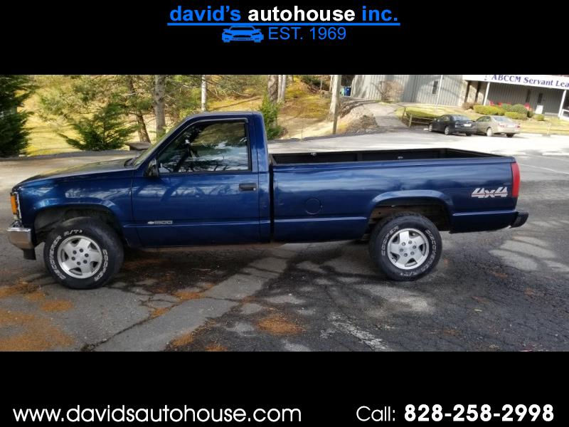 1998 Chevrolet C/K 1500 Reg. Cab 8-ft. Bed 4WD