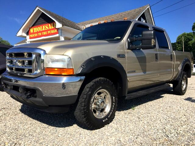 2001 Ford F-350 SD Lariat Crew Cab Short Bed 4WD