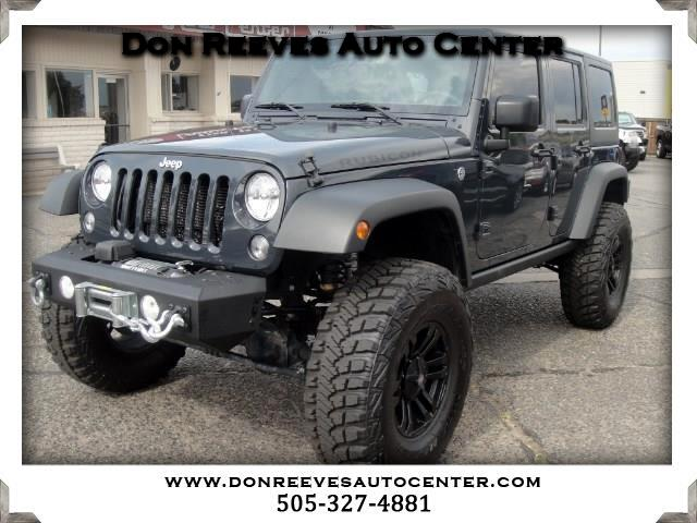 2016 Jeep Wrangler LIFTED RUBICON 4DR 4X4