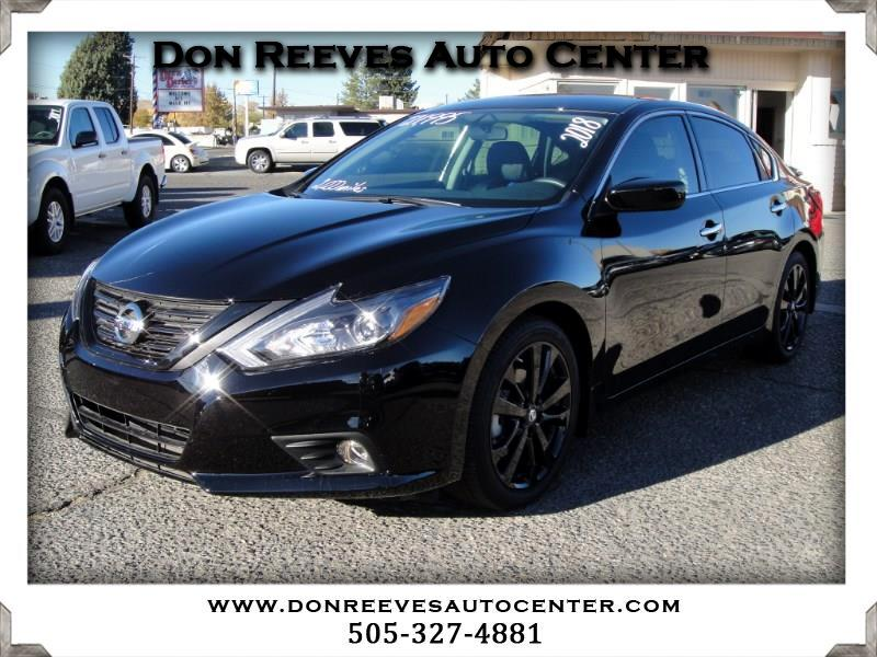 2018 Nissan Altima 2.5 SR MIDNIGHT EDT