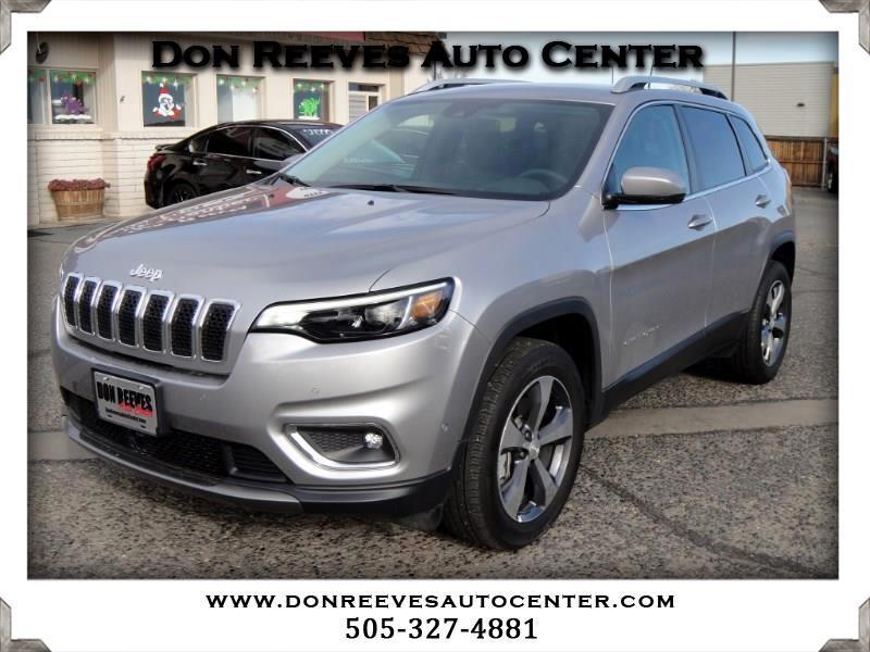 2019 Jeep Cherokee LIMITED LUXURY 4X4