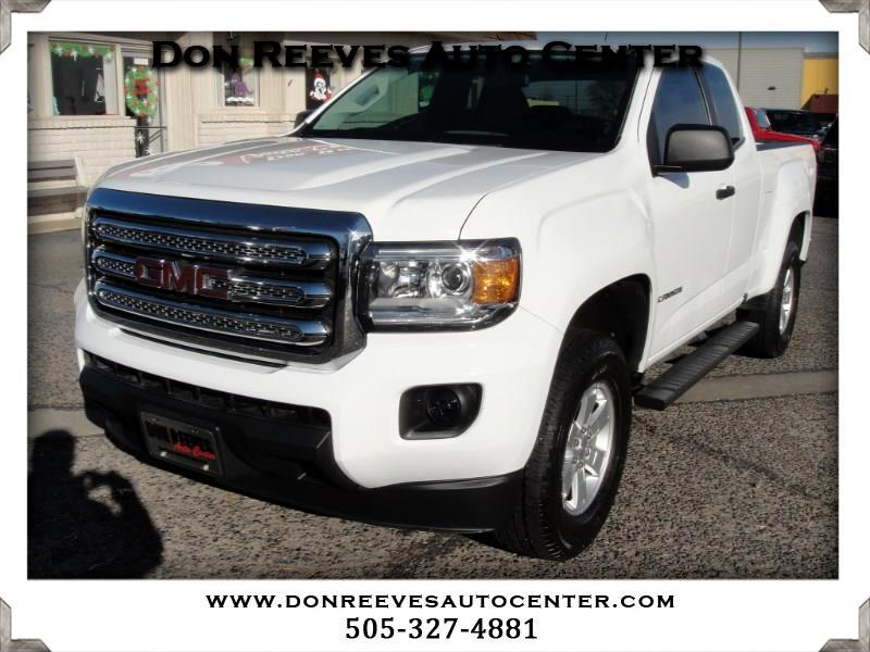 2016 GMC Canyon EXTENED CAB 2WD