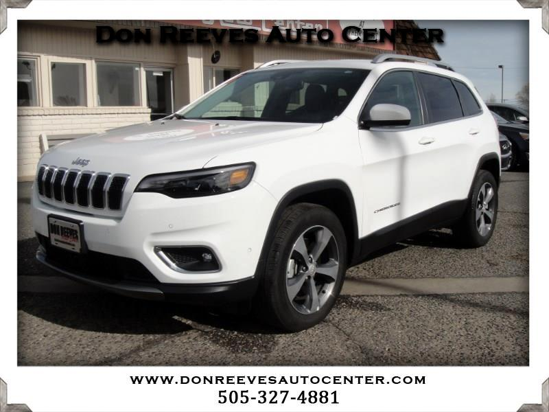 2019 Jeep Cherokee LIMITED LUXURY 4WD