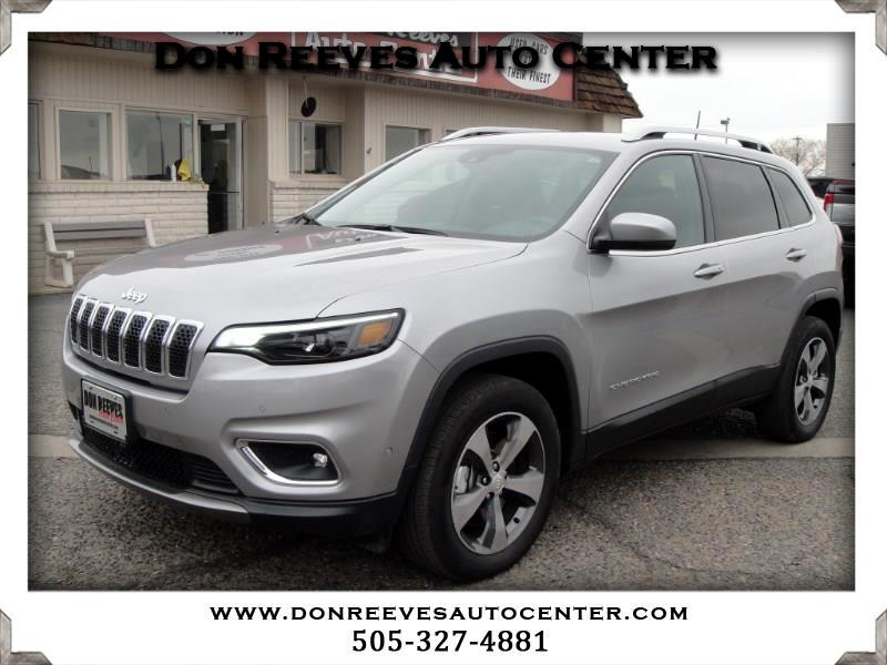 2019 Jeep Cherokee LIMITED LUXURY 4X4