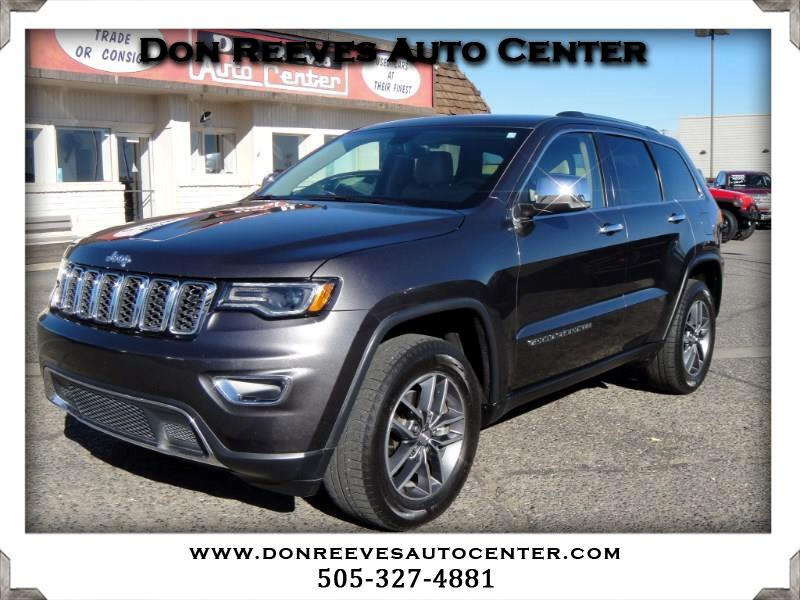 2017 Jeep Grand Cherokee LIMITED LUXURY II 4WD