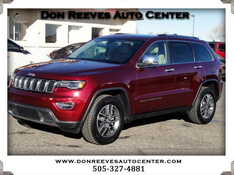 2018 Jeep Grand Cherokee LIMITED LUXURY II 4X4