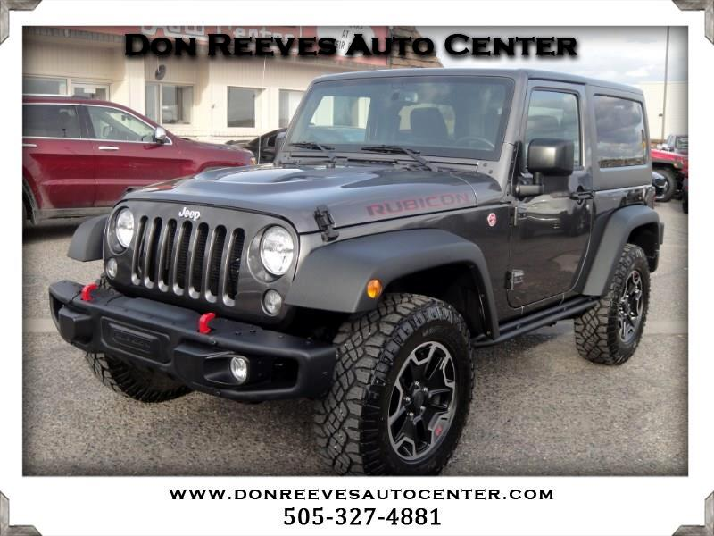 2016 Jeep Wrangler RUBICON HARD ROCK 2DR 4X4