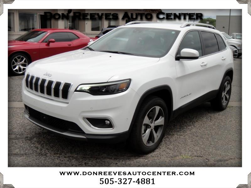 2019 Jeep Cherokee LIMITED LUXURY II 4WD