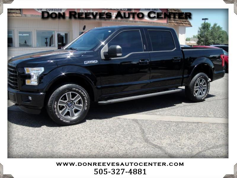 2016 Ford F-150 SPORT XLT SUPER CREW 5.5FT 4X4