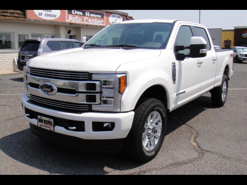 Ford F-350 SD Limited Crew Cab 4WD 2019