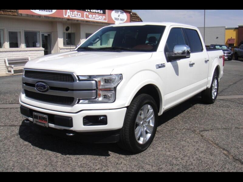 Ford F-150 Platinum SuperCrew 5.5-ft. Bed 4WD 2019