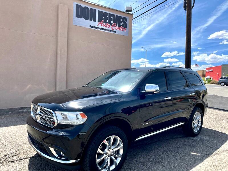 Dodge Durango Citadel AWD 2018